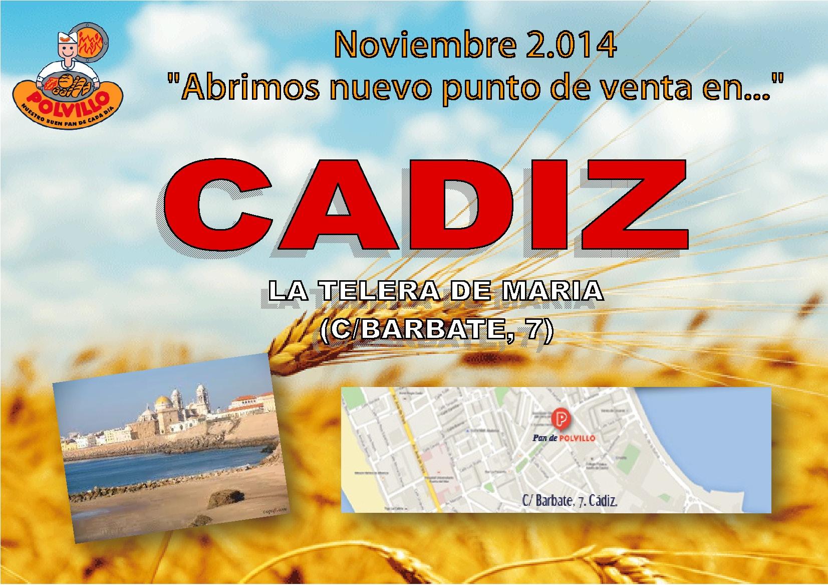 Apertura Cádiz, calle barbate