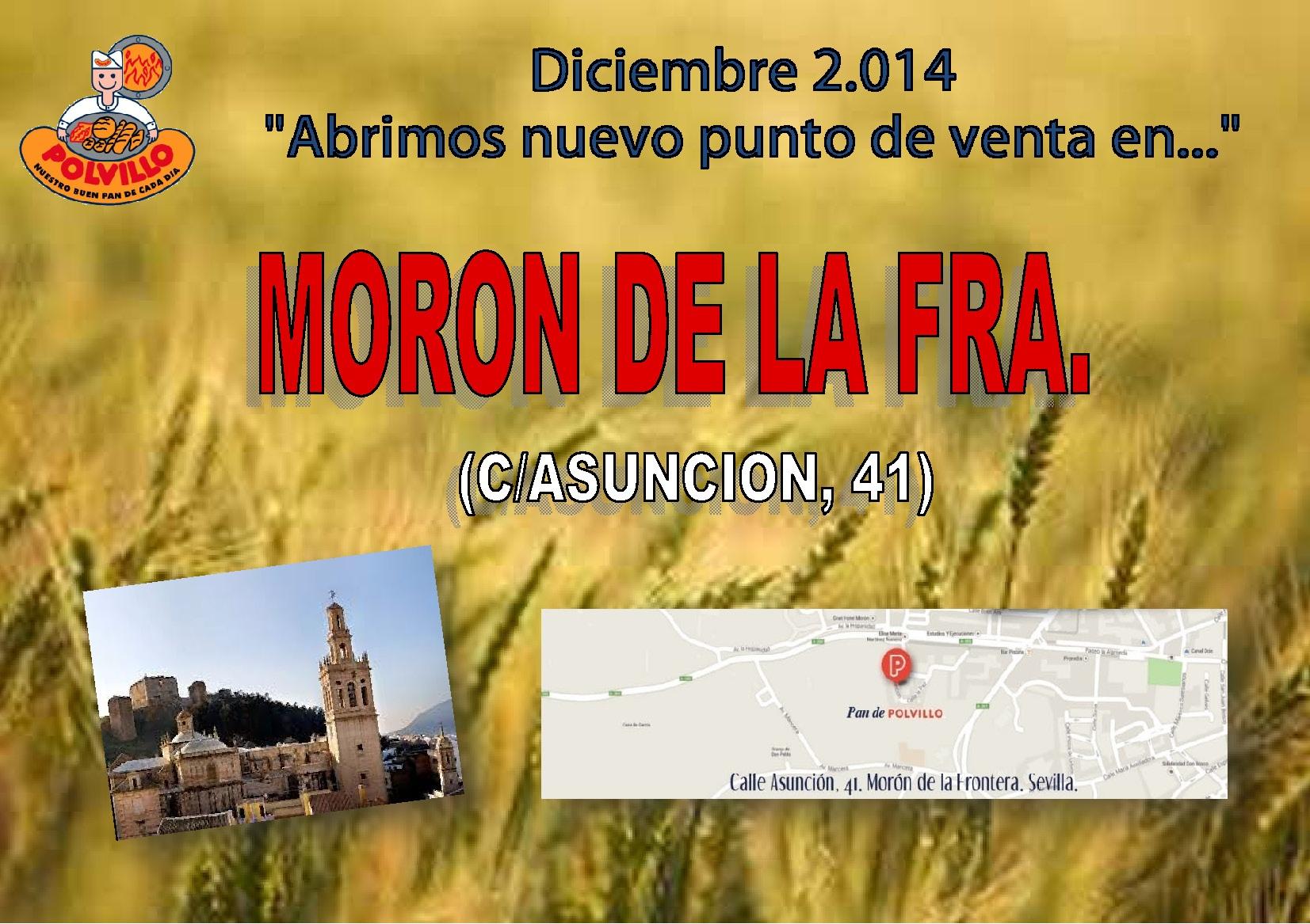 Apertura Moron de la frontera, Calle Asuncion, 41