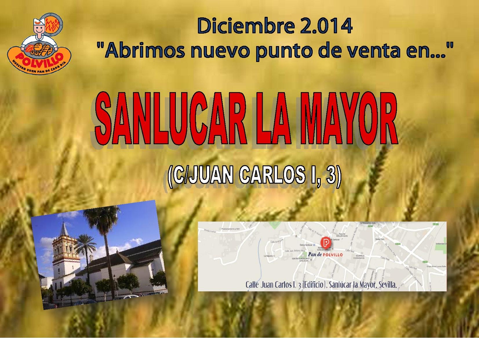 Apertura Sanlucar La Mayor, Calle JuanCarlos I, 3