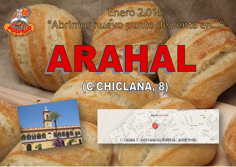 Apertura Arahal, calle chiclana 8