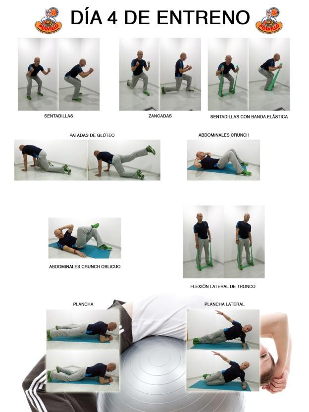 entrenamiento dia 4 perdida de peso