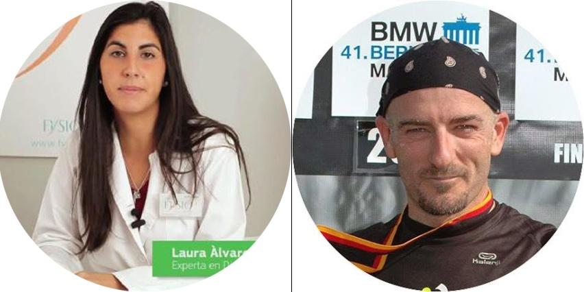 Roberto Fabeiro y Laura Alvarez Reto Salud Polvillo