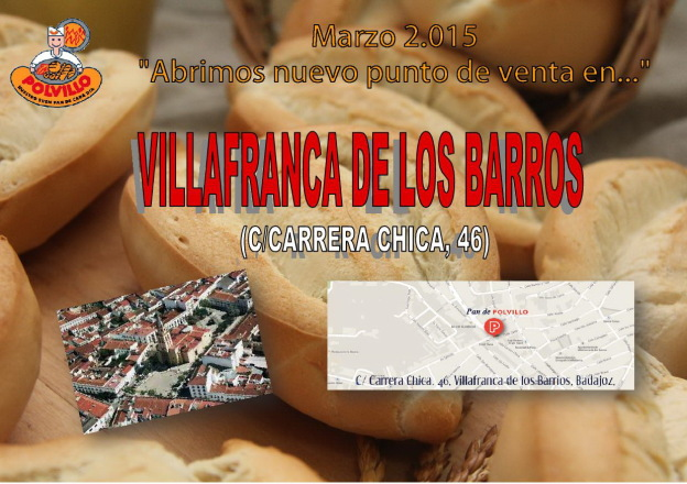 panaderia villafranca de los barros polvillo