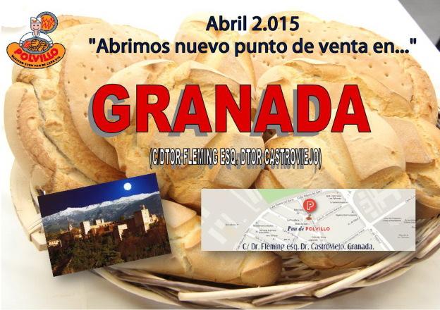 Apertura panaderia Granada