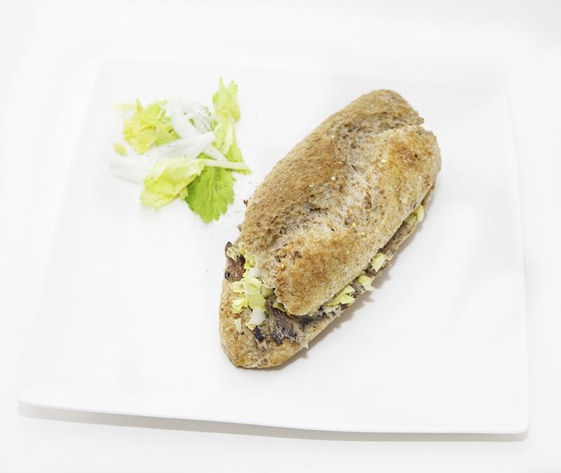 Bocata Eco integral con sardinas