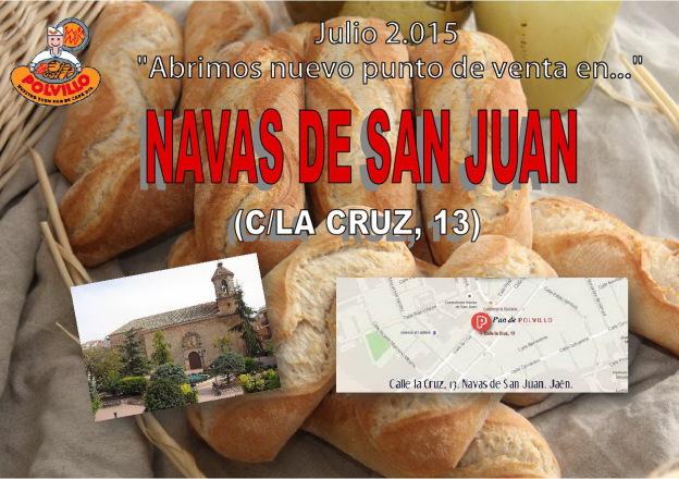 Panaderia Polvillo Las navas de san juan