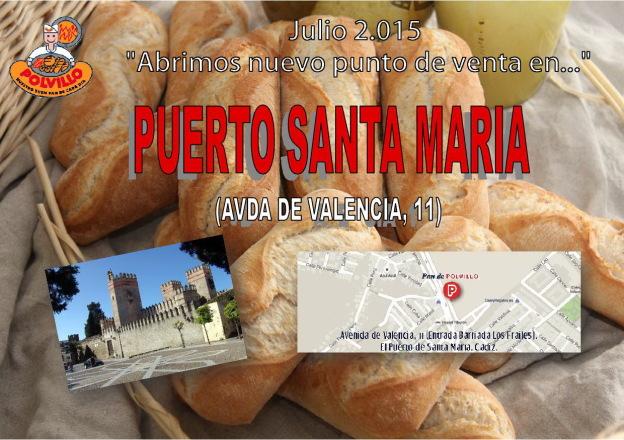 panaderia Puerto Santa Maria polvillo