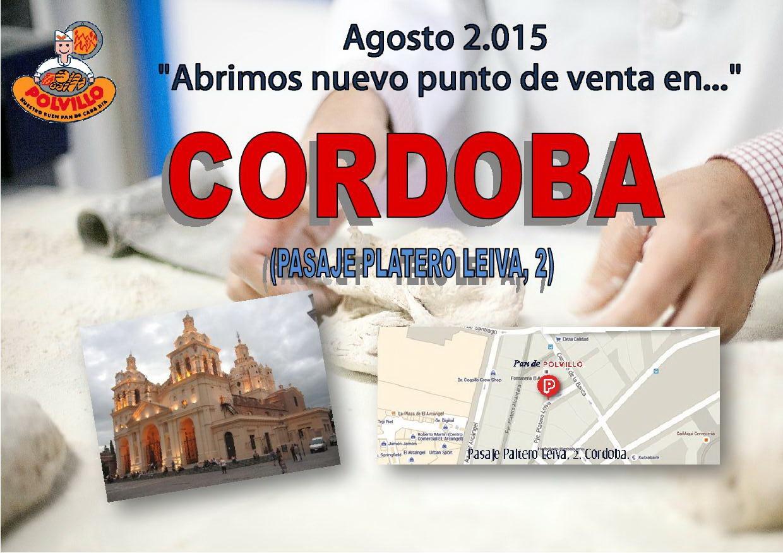 Apertura polvillo Cordoba, Pasaje Platero Leiva