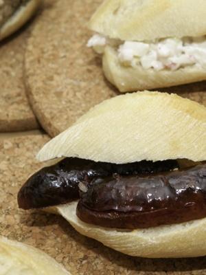 Montaditos Chorizo al a sidra