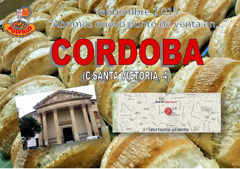 Panaderia Cordoba, calle santa victoria