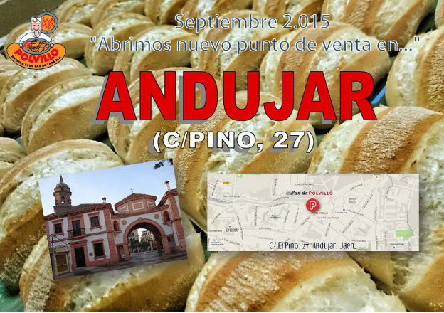 Panaderia Polvillo Andujar, calle pino
