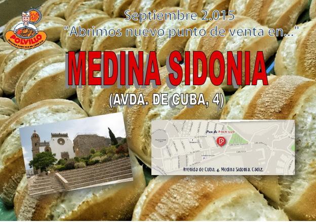 Panaderia Polvillo Medina Sidonia, Avda de Cuba