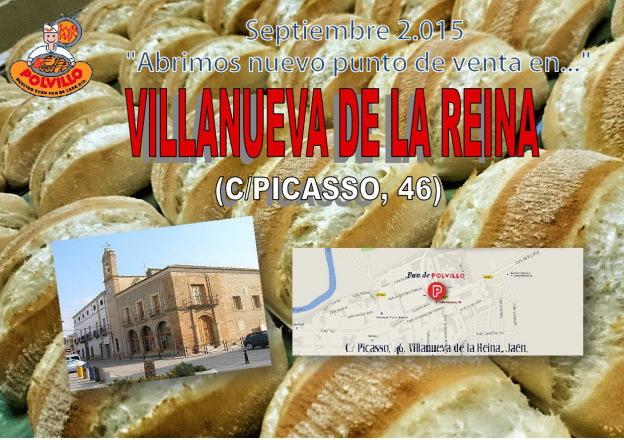 Panaderia Polvillo Villanueva de la reina, calle picasso