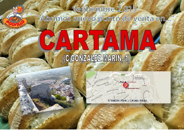 panaderia polvillo cartama, calle gonzalez marin