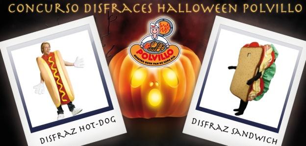 Concurso disfraces halloween, polvillo