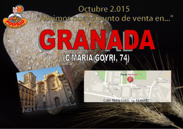 Panaderia Granada Polvillo, Calle Maria Goyri