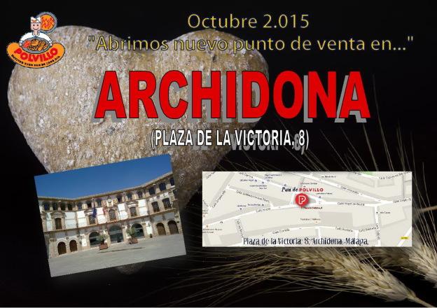 Panaderia Polvillo Archidona, plaza de la victoria
