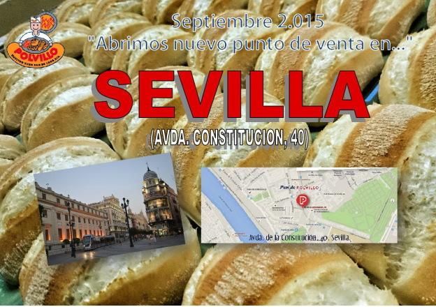 Panaderia Polvillo, avenida constitucion, Sevilla
