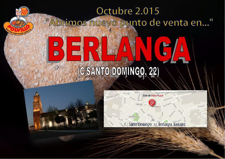 Apertura Panaderia Polvillo Berlanga, calle santo domingo