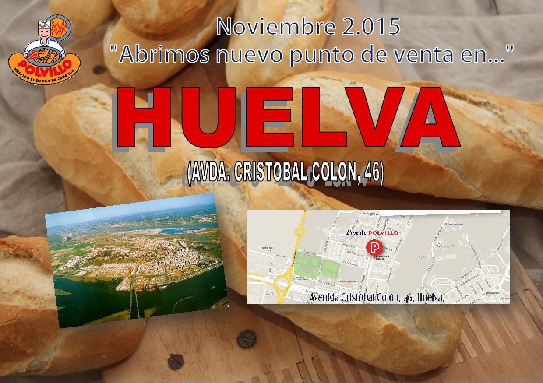 Apertura Panaderia Polvillo Huelva, Avda Cristobal Colon
