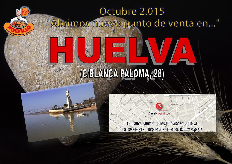 Apertura Panaderia Polvillo Huelva, Calle Blanca Paloma