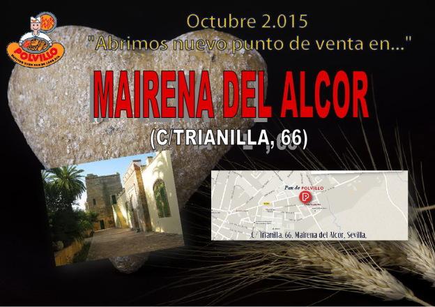 Apertura Panaderia Polvillo Mairena del Alcor, Calle Trianilla