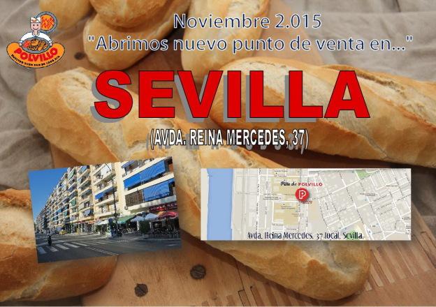 Apertura Panaderia Polvillo Sevilla, Avda Reina Mercedes