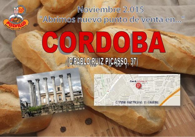 Apertura panaderia Polvillo Cordoba, calle Pablo Ruiz Picasso