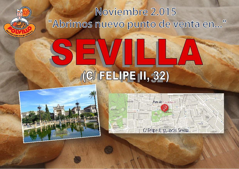 Apertura panaderia polvillo Sevilla, calle felipe II