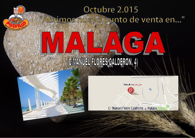 Panaderia Polvillo Malaga, Calle Manuel Flores Calderon