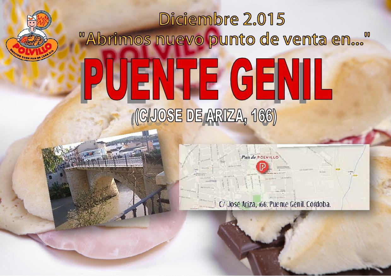 Apertura panadería polvillo Puente Genil, calle jose de Ariza