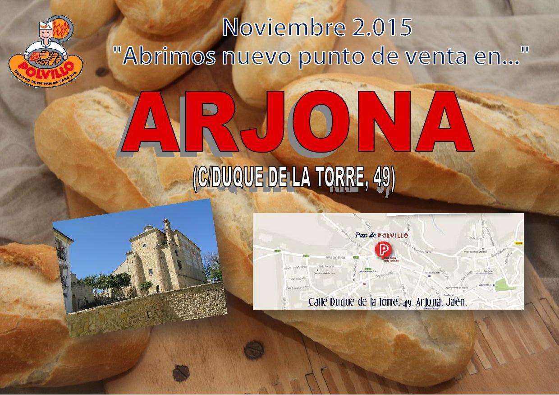 Apertura panaderia polvillo Arjona, calle duque de la torre