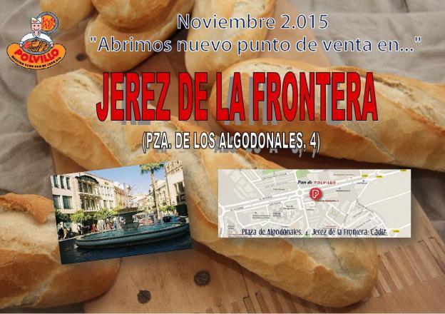 Apertura panaderia polvillo Jerez, Plaza de Los Algodonales