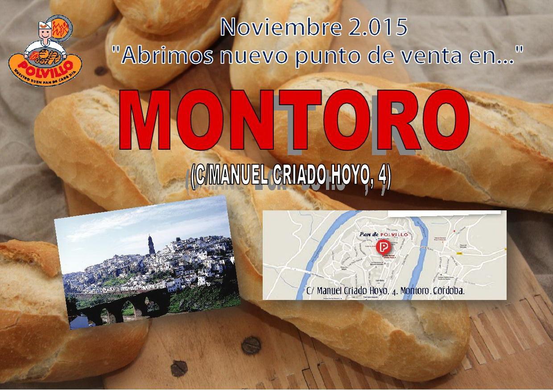 Apertura panaderia polvillo Montoro, Calle manuel criado hoyo