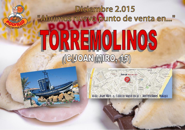Apertura panaderia polvillo Torremolinos, calle Juan Miro