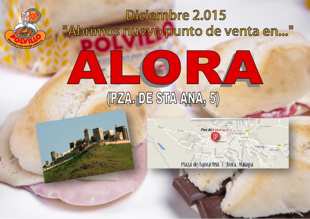 Apertura panaderia polvillo álora, plaza de santa ana