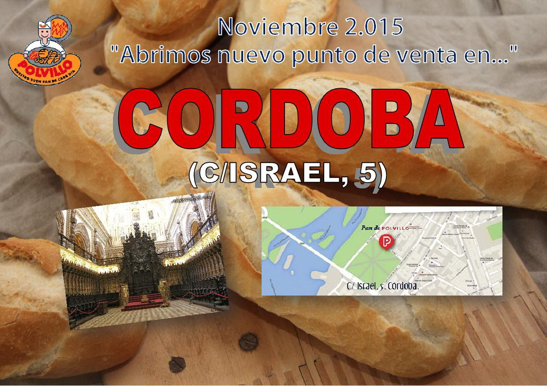 Apertura panaderia polvillo cordoba, calle israel