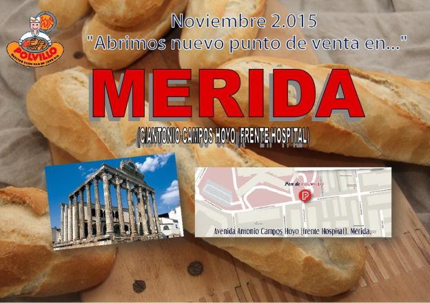Apertura panaderia polvillo merida, Calle Antonio Campos Hoyo