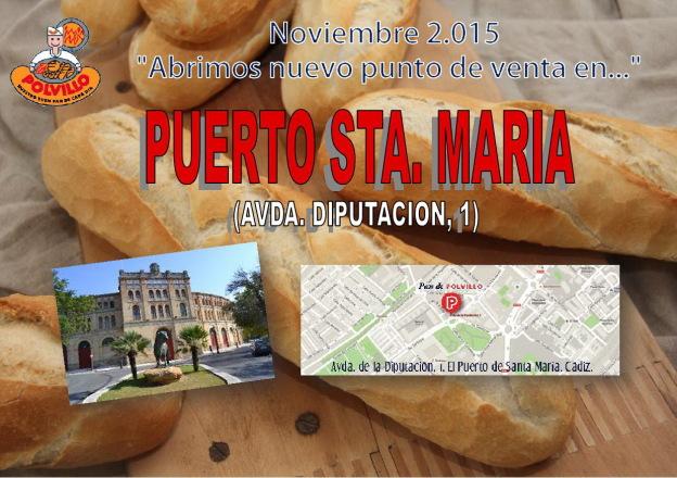 Apertura panaderia polvillo puerto de santa maria, Avda. diputacion