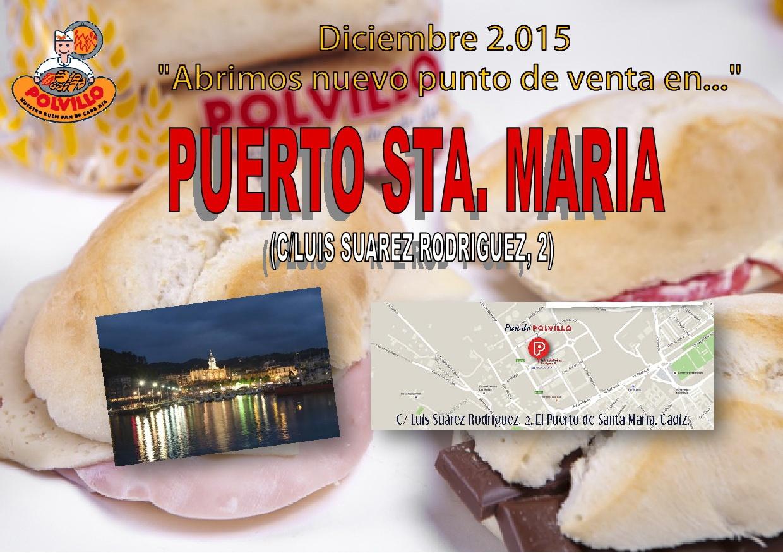 Apertura panaderia polvillo puerto de santa maria, Calle Luís Suárez Rodríguez