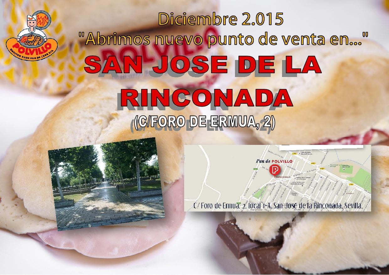 Apertura panaderia polvillo san jose de la rinconada, calle foro de ermua