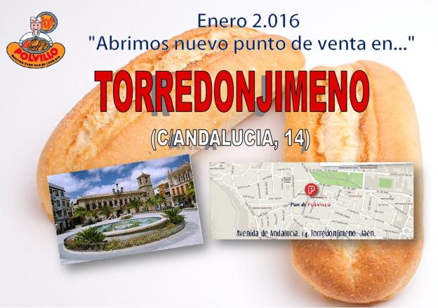 Apertura panaderia Polvillo Torredonjimeno, calle andalucia