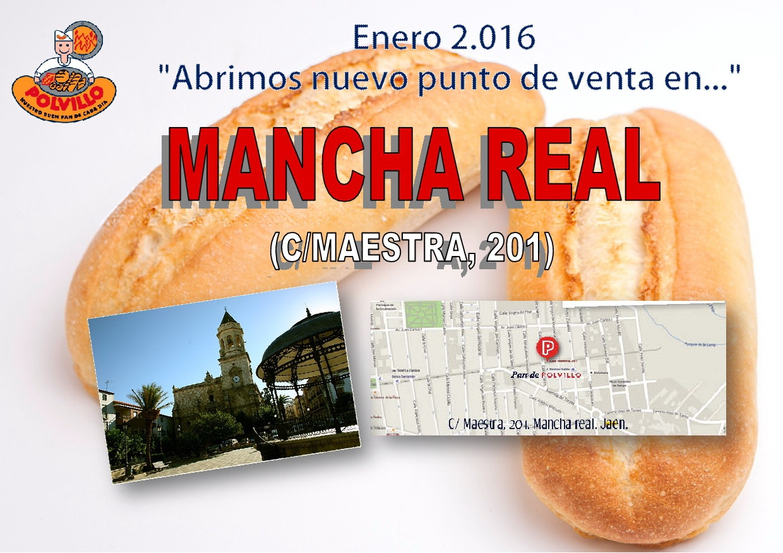 Apertura panaderia polvillo Mancha Real, Jaen Calle Maestra