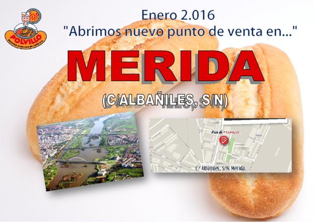 Apertura panaderia polvillo merida, calle albañiles