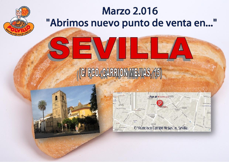 Apertura panaderia polvillo sevilla, Avda. Francisco Carrion Mejias