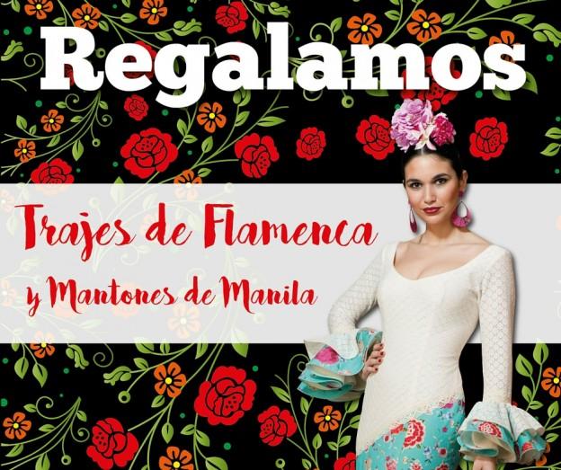 Traje flamenca polvillo