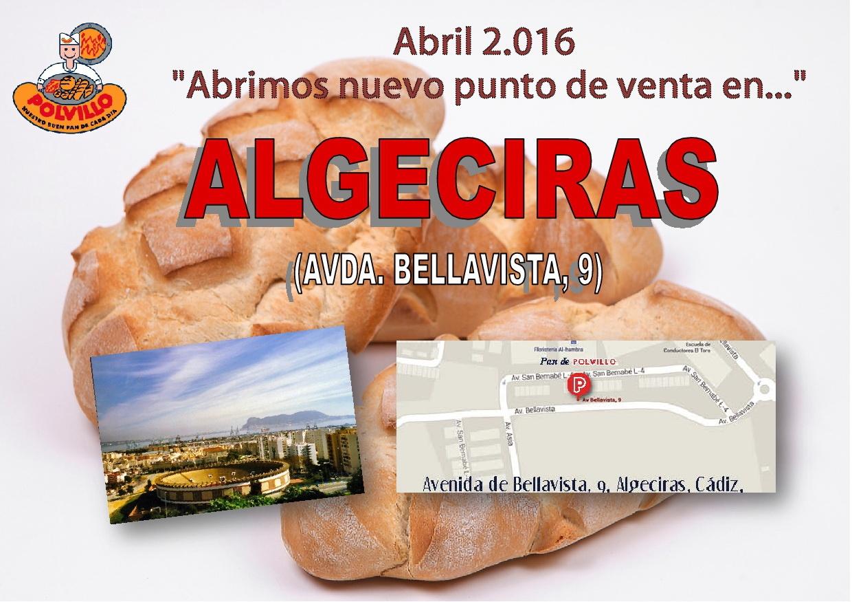 Apertura panaderia polvillo Algeciras, Avenida Bellavista