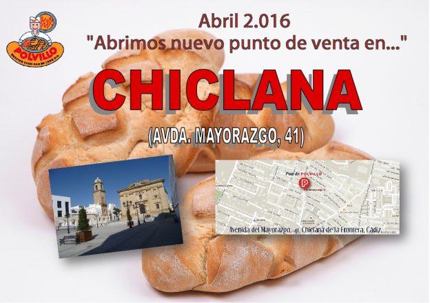 Apertura panaderia polvillo, chiclana, avda mayorazgo