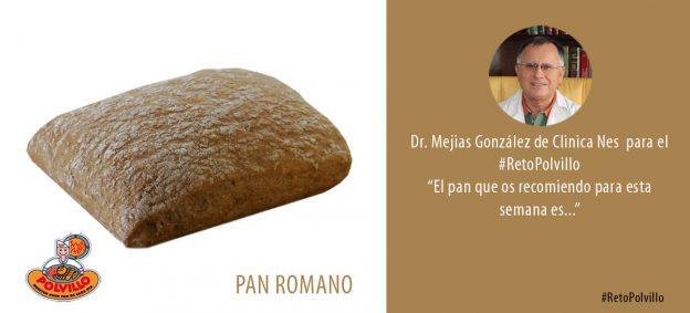 Pan romano dieta polvillo reto semana