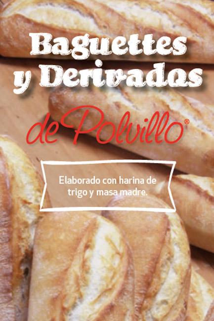 Baguettes y derivados Polvillo